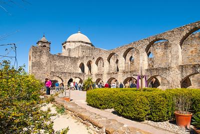 San Antonio Missions and Alamo