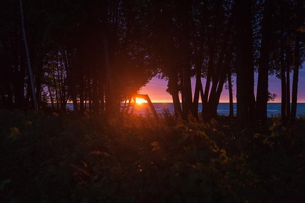 Sunrise, Bjorklunden - September 2016
