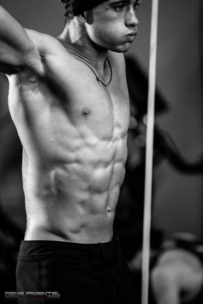 Crossfit Ripped competition with Brian Gentry