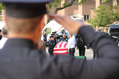 Officer Diaz Memorial Service and Funeral
