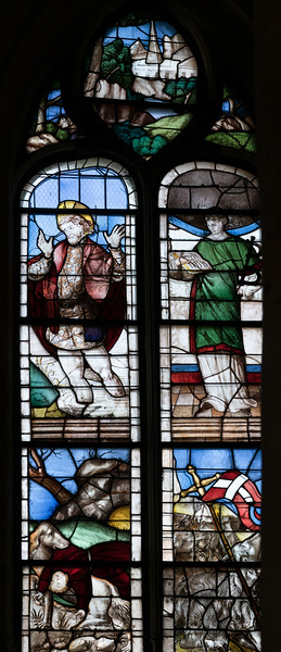 Montfort l'Aumary - Saints Eustache and Leonard (16C)