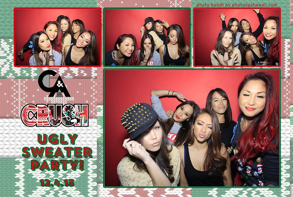 C&A CRUSH Ugly Sweater Party (Stand Up Photo Booth)