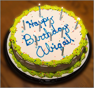 Abigail's 10th Birthday