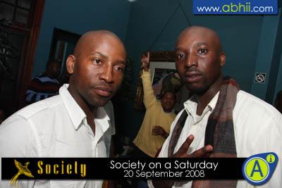Society - 20th September 2008