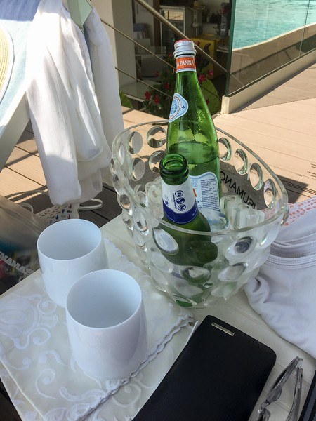 Pool refreshments