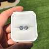 4.08ctw Old European Cut Diamond Pair, GIA I VS2, I SI1 33
