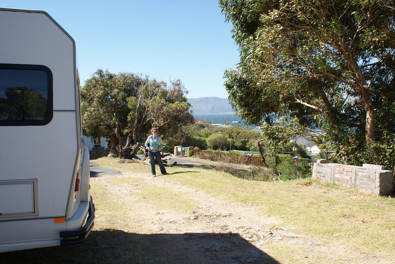 Our first campsite, Simon's Town