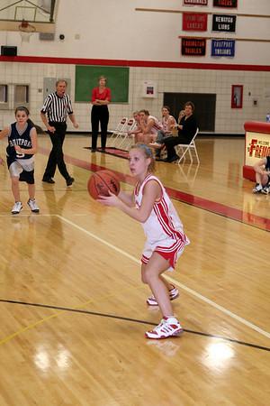Girls Freshman Basketball - 2007-2008 - 2/12/2008 Fruitport