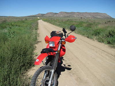 Lamy-Pecos area-Glorieta Mesa DS Ride  8-14-10