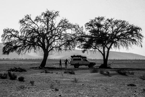 Namibia, (B&W)