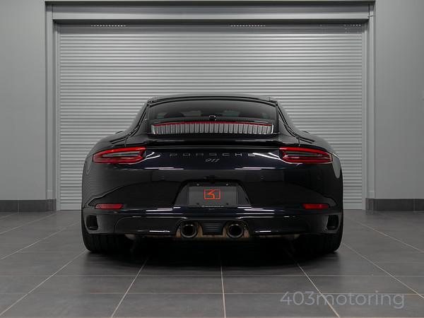 '17 911 Carrera GTS - Jet Black Metallic