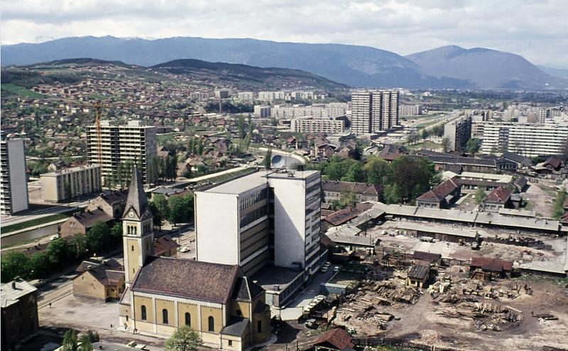 Gradnja novog dijela grada