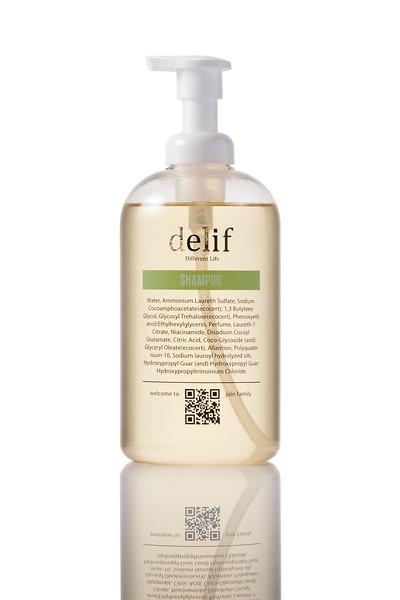 「商品攝影」delif洗髮精系列產品