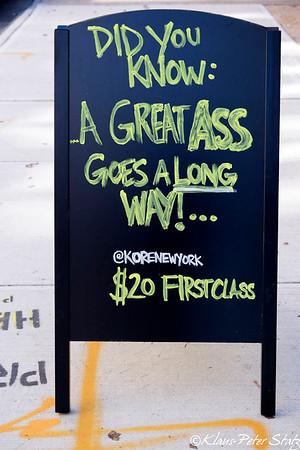 Sidewalk Wisdom