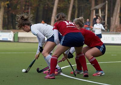 2018-11-04: HC Tilburg D3 - HC Tilburg D2