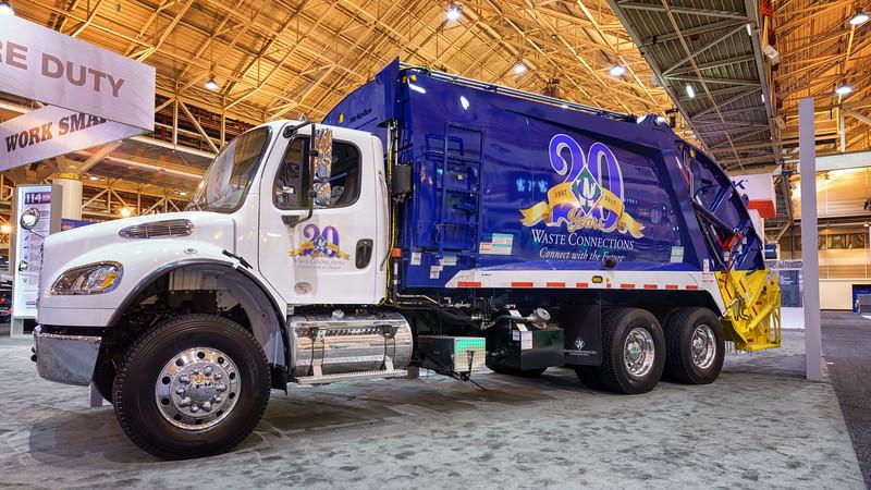 Waste Connections Freightliner M2 McNeilus Rear Loader