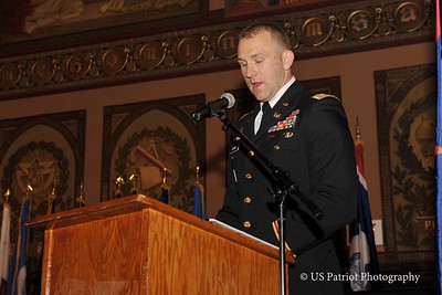 Georgetown University ROTC Commissioning Ceremony, 15 MAY 15