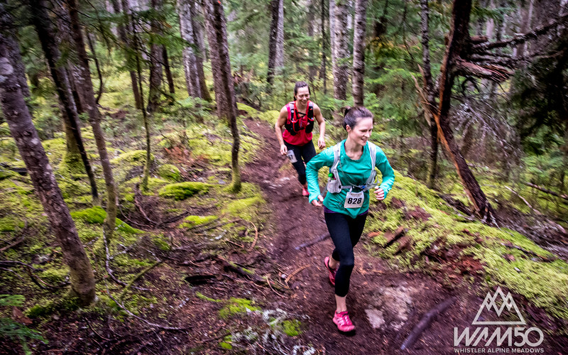 Whistler Alpine Meadows 50. Part of the Coast Mountain Trail Series. Photo: Scott Robarts