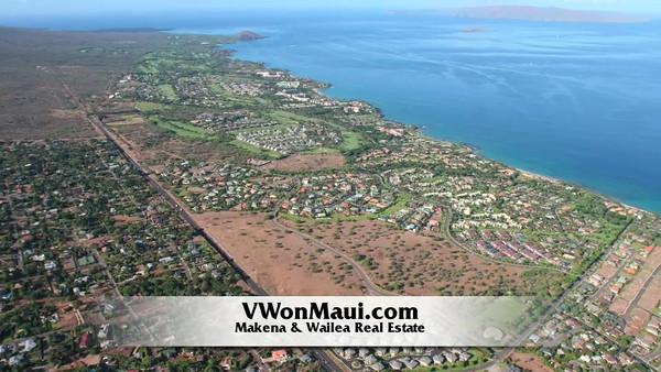 Wailea & Makena Aerial Photos from June 2008