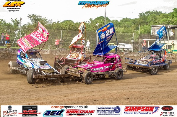 BriSCA F1 Stockcars, Northampton, 1 June 2019