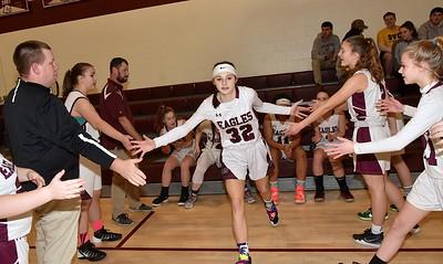 AMHS Varsity Girls Basketball vs BR photos by Gary Baker