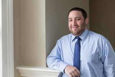 Zachary J. Cooper Senior Accountant- John Liptak CPA Westfield, MA- Corporate Headshot PR Portrait Photographer- New England