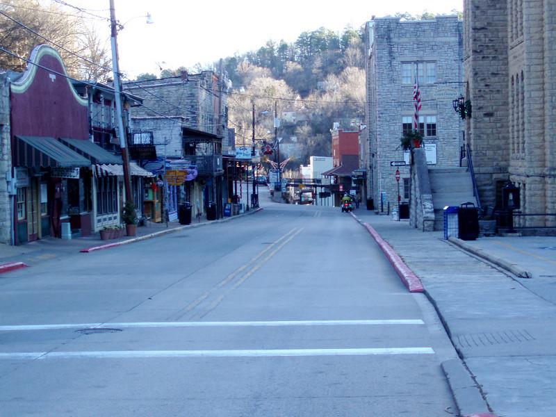 Tuesday, 12/30/08: Historic downtown Eureka Springs, AR