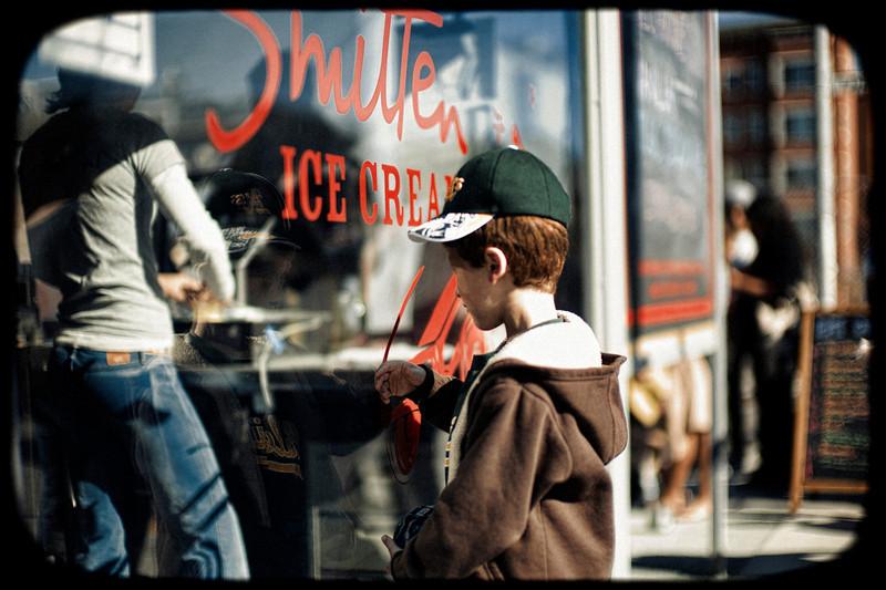 Smitten for Smitten Ice Cream.  Hayes Valley.