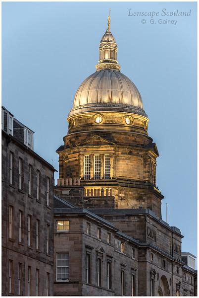 Old College dome, South Bridge (2)