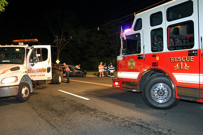 Leonia MVC Rollover Fort Lee Rd. 5-29-17