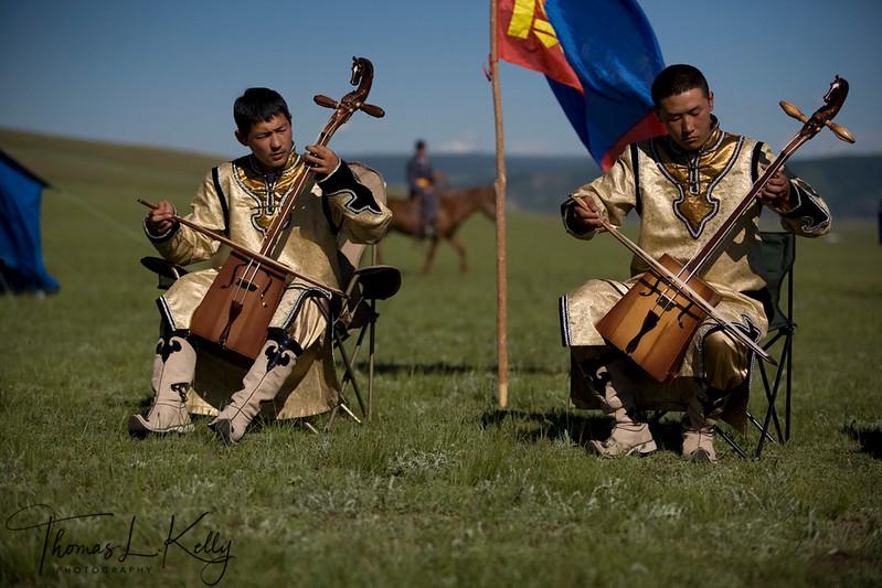 Annual Naadam Festival. Bunkhan Valley. Mongolia.