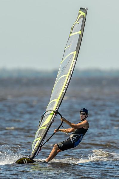 Wind and Kite Boarding at Sanibel 11/03/2013