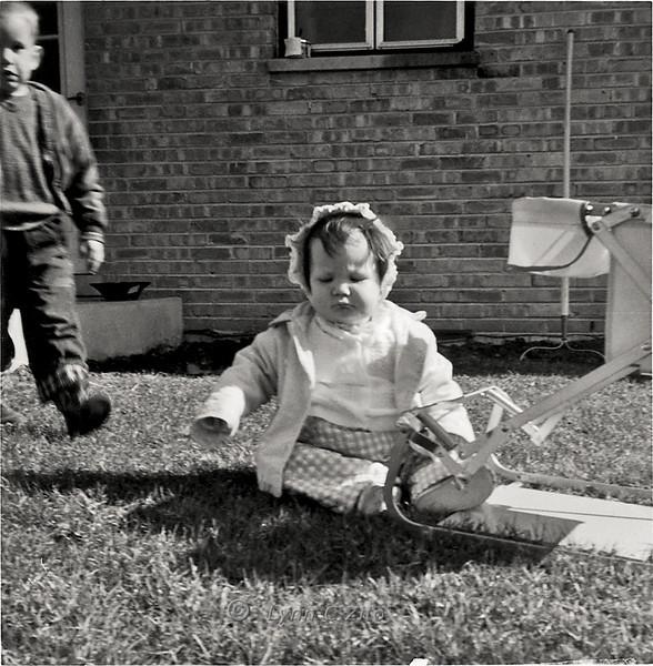 LYNN & CRAIG APRIL 1958