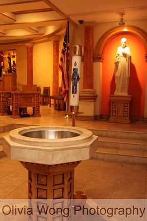 Gabriel's baptism