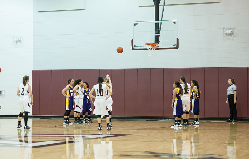 Lady Lopes Basketball JV & Varsity vs Anton, 11-10-2015