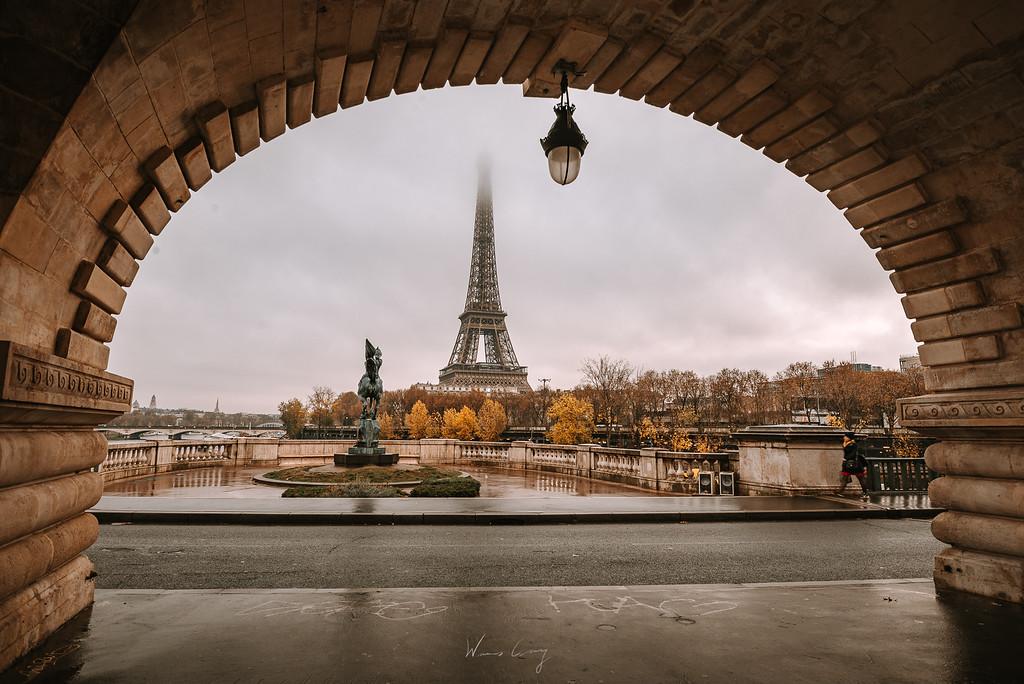 比爾哈克姆橋 Pont de Bir-Hakeim by 旅行攝影師張威廉