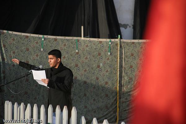 الرادود الحسيني الشاب السيد حسين الخضراوي  عزاء الزنجيل بالقديح - يوم 6 محرم 1430 هـ