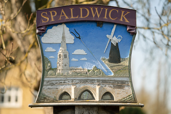 Spaldwick Village Sign