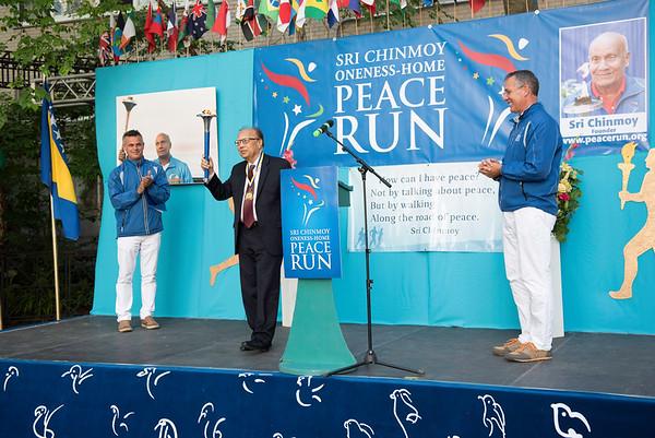 Peace Run 2016 Ceremony