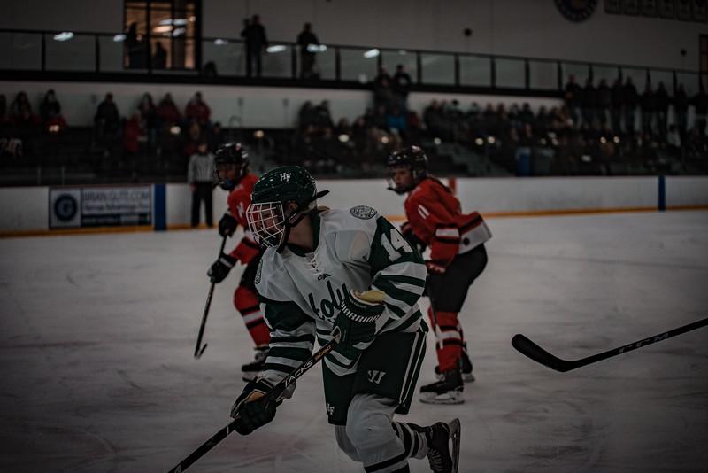 Holy Family Girls Varsity Hockey vs. Mound Westonka, 12/10/19: Taylor Koeppl '23 (14)