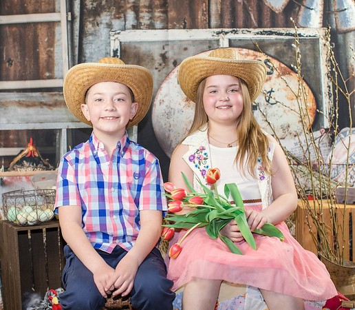 Bella and Isaac at the Chicken Ranch 2019