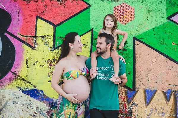 Ensaio Gestante: Adriana + Irvinng = Clara e Miguel