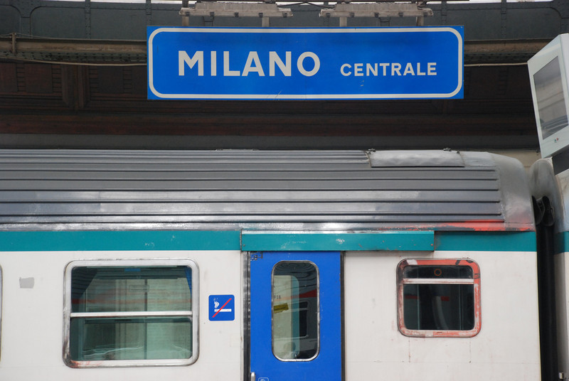 Train Station in Milan
