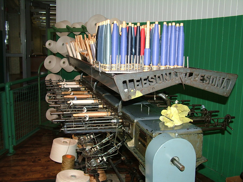 Supplies for weaving machine - Boott Cotton Mills - Lowell, MA