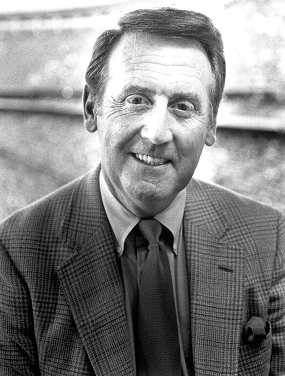 . Vin Scully in 1983.   L.A. Daily News file photo