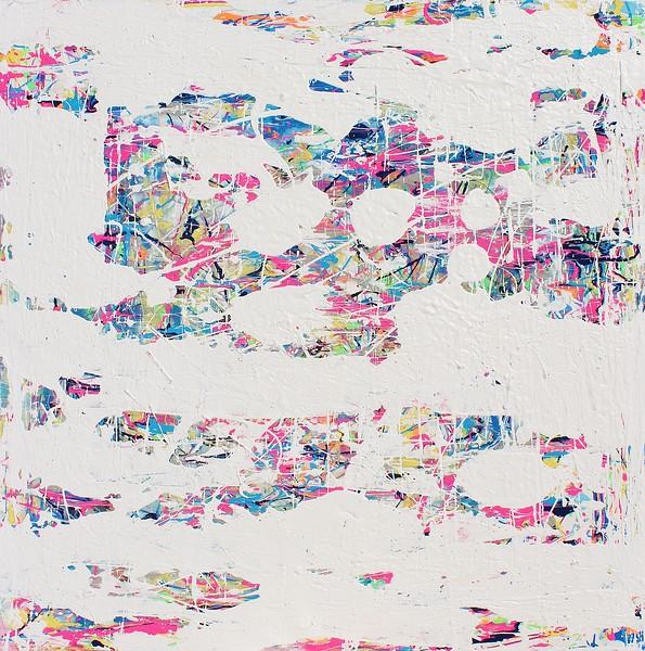 Bubblegum - 30x30- 2019- acrylic, mm on canvas. original art. Artist -Sona Mirzaei.JPG