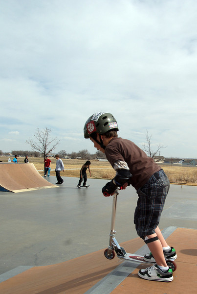 March 2011 Indoor BMX and Skate Park Fun