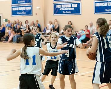 JV Girls v St Ann's 1-12-2012