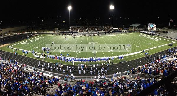 Bentonville Tigers at Rogers Mounties Football - 10/05/2012