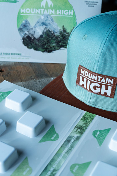 Product Photography   Cannabis Edibles for Full Scale Co.
